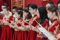 宁波市婚俗改革启动 镇海、奉化、北仑分列省、市改革试点