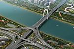西洪大桥预计2022年6月贯通 还有这条路的最新消息