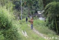 宁波这个古村适合秋日旅行 村口还有个网红水库