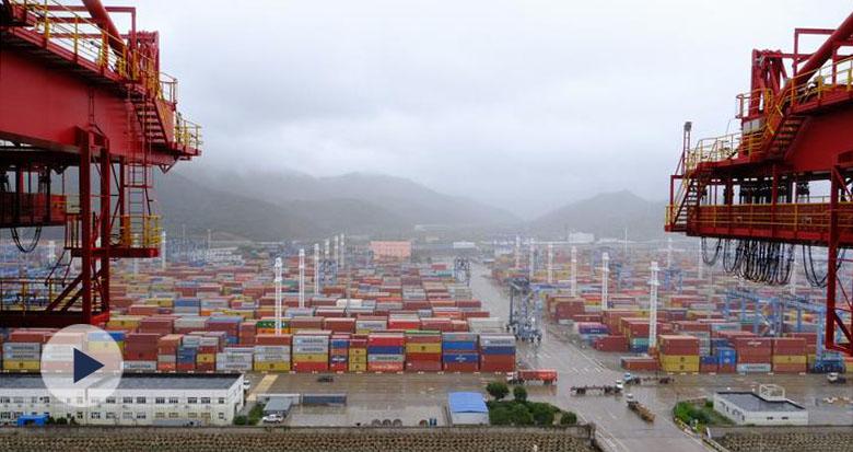 720°视频浸入式感受宁波舟山港之美