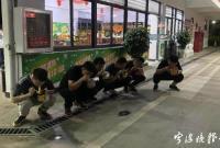 宁波6名黑衣男子深夜一起蹲着吃泡面 他们的身份竟是…