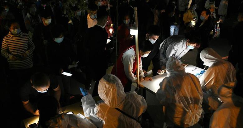 青岛全员检测:已完成过百万人的核酸检测采样