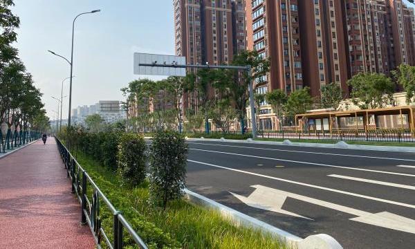 全长约660米 双向6车道 宁波城西又一条重要道路通车