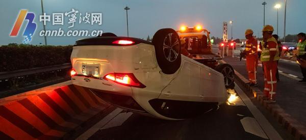 """宁波一男子发生交通事故后猛喝水 结果一个""""嗝""""穿帮了…"""