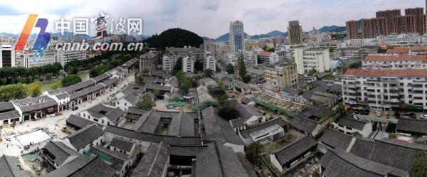 余姚阳明古镇露新颜 沿江历史文化街区将于月底开街