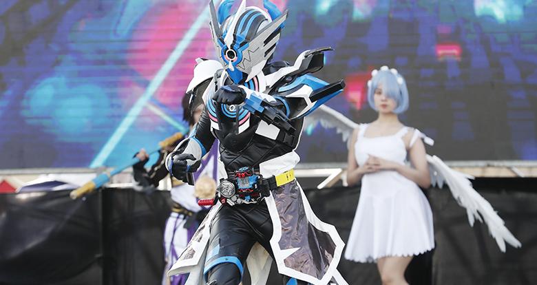 2020宁波动漫文化节・P1次元祭在天一广场举行