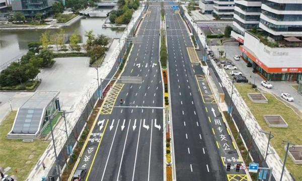 宁波轨道交通5号线海晏北路站土建完工 周边道路恢复通行