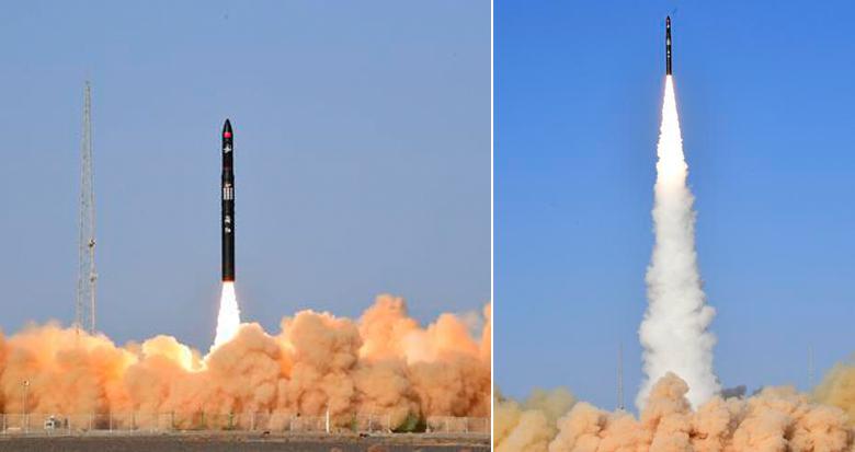 谷神星一号商业运载火箭首飞成功 搭载发射天启星座十一星