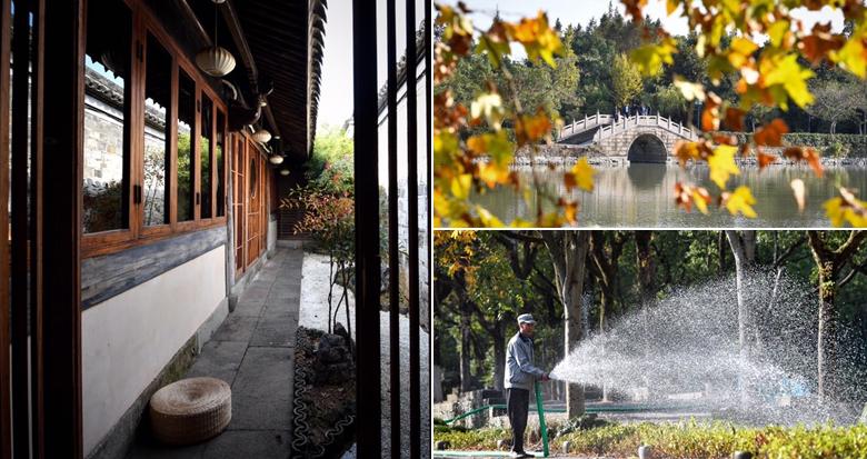 秋日的午后:感受宁静美好的慈城古镇
