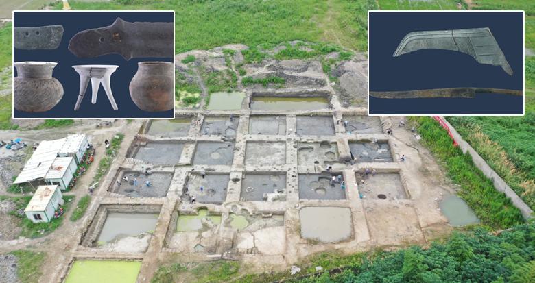 宁波又发现一处重要遗址 250厘米内共发掘出12层遗存