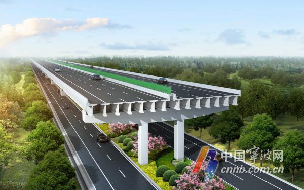 杭甬高速复线宁波段一期全线复工复产