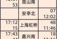 宁波-连云港高铁12月11日起开通 车票已发售