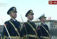 燃!天安门广场新年首次升旗