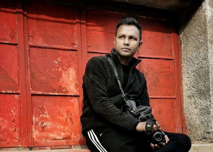 """一个印度摄影师镜头里的""""鄞州红"""""""