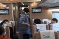 女子大闹高铁打哭乘务员 警方通报来了