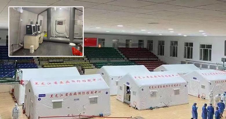11小时建成!方舱检测实验室在绥化望奎正式投用