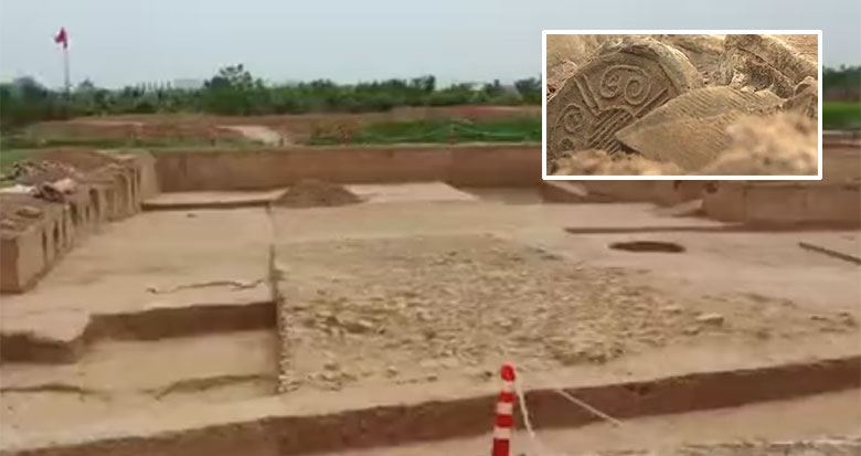 陕西发现秦始皇政务大殿遗址