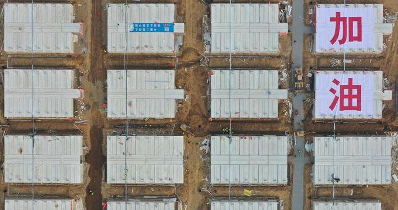 石家庄黄庄公寓集中隔离场所首批606套隔离房今天将交付