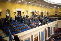 担心国会遭袭 美众议院突然宣布提前散会