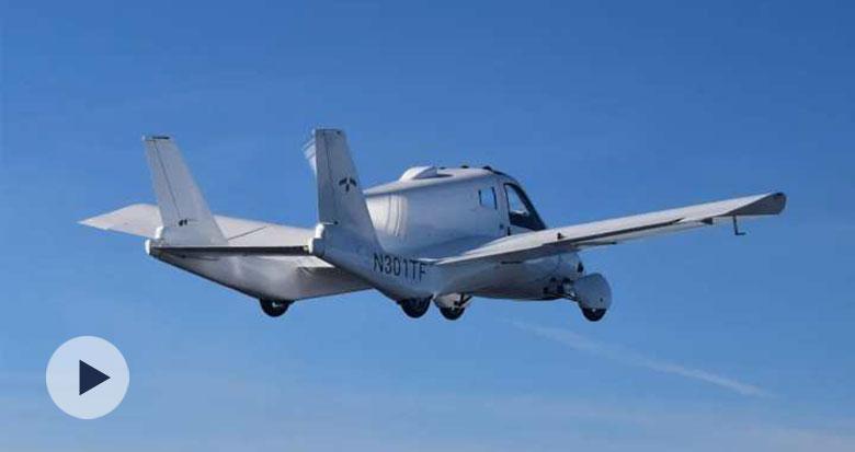 全球首张!吉利飞行汽车太力TF-1获飞车适航证