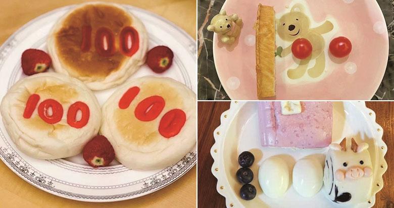 """孩子们昨天期末考 宁波家长""""100分""""创意早餐刷屏"""
