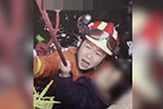 孩子落井 江西这位母亲跳入井中用身体支撑救他