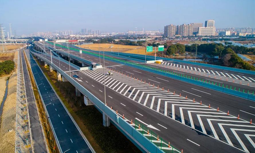 快速路建设提速 环城南路西延薛家路至联丰路段通车
