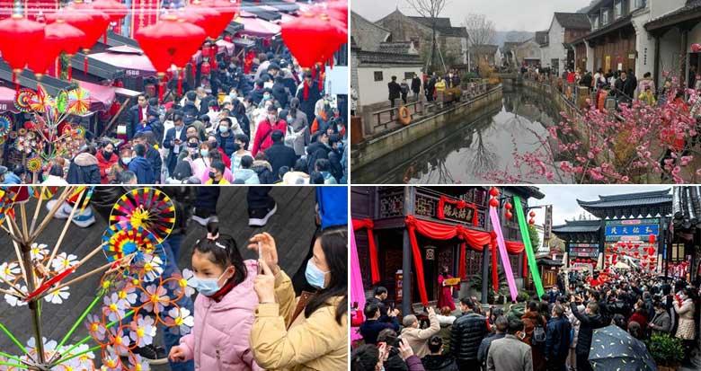 宁波景区人气旺
