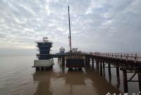 30米高的鞭炮震撼现场!宁波这个海上超级工程复工了
