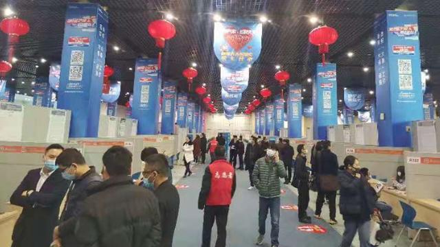 江北开展余缺调剂招聘会,50家企业需求1500余人