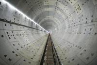 宁波地铁2号线二期后通段实现洞通 隧道间一条联络通道打通