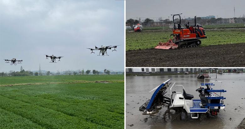 平整机、植保机、插秧机……无人驾驶农机来了