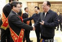 彭佳学裘东耀会见国务院特殊津贴专家和全国技术能手