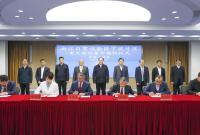 浙江自贸区宁波片区重大项目集中签约 彭佳学裘东耀会见企业家代表