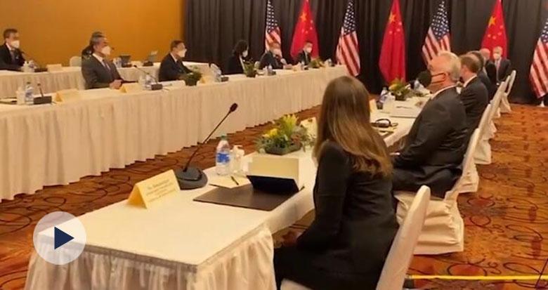 中美对话现场 杨洁篪硬气表态!
