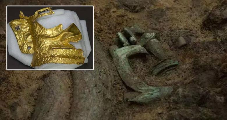 """三星堆发现6座""""祭祀坑"""" 已出土500余件重要文物"""