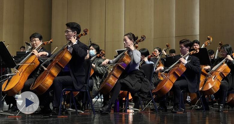 宁波这场致敬志愿者交响音乐会上演