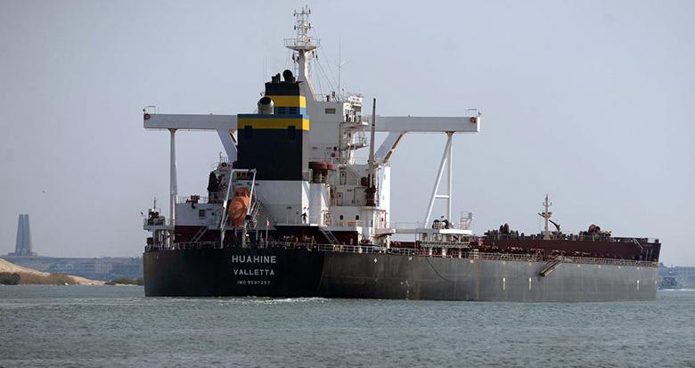113艘集装箱货轮已通过疏通后的苏伊士运河