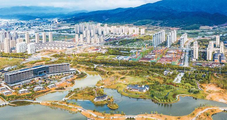 宁海新城市中心区初长成