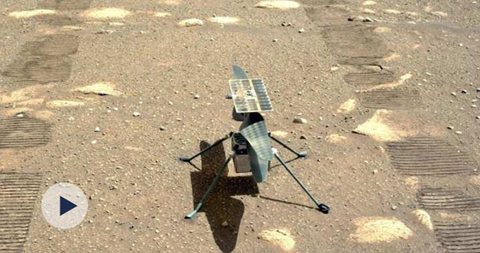 人类首次直升机在火星成功起飞