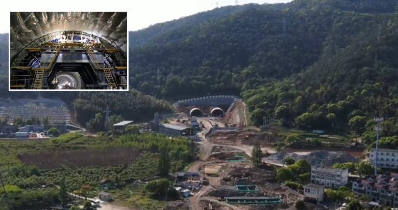 全长1.65公里!宁波最长的城市隧道贯通