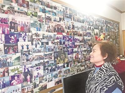 家庭照片墙:记录60年生活变迁