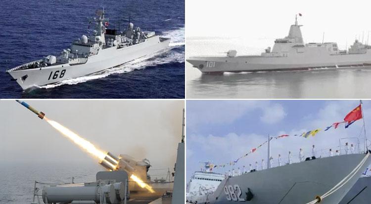 从命名看海军三型主战舰艇都是何等利器