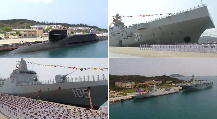 中国海军舰艇的命名规则是什么?