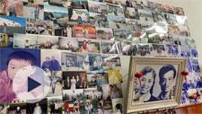 宁波这对老夫妻家的照片墙 记录60年幸福变迁