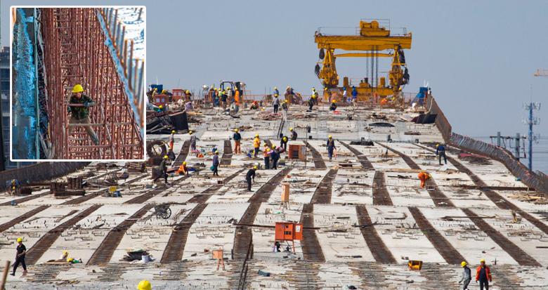 400多名工人奋战一线!世纪大道这段快速路计划年底通车