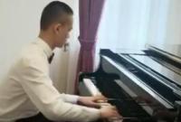 """""""爱是我的眼"""" 宁波14岁盲童再战郎朗杯钢琴大赛"""