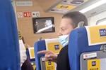 外籍男子高铁上不戴口罩还辱骂邻座乘客 官方回应
