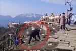 四川一景区寻找捡垃圾游客 承诺终身免费游