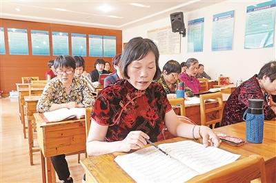 凌江社区甬剧班:唱响美好生活